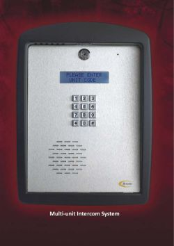 Access Card and Tag Readers Access Control Systems for security estates